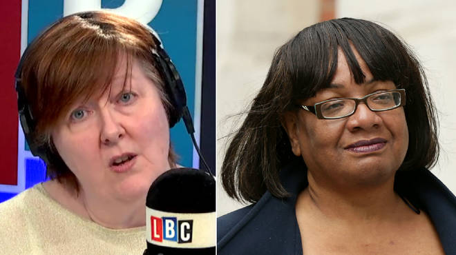 Shelagh asked Diane Abbott the same question again and again