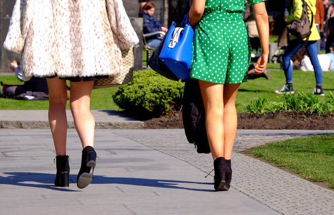 Upskirting becomes a criminal offence
