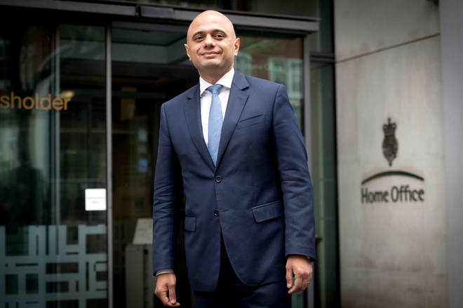 Home Secretary Sajid Javid will have extra powers under the new law