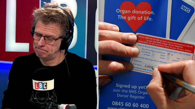 Andrew Castle Discusses Organ Donation