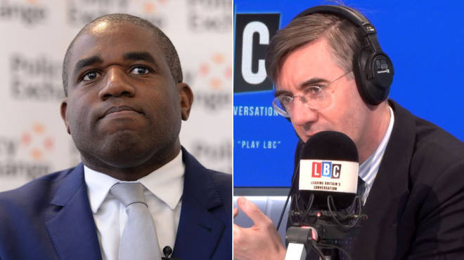 David Lammy & Rees Mogg