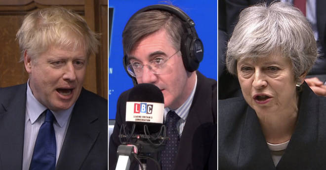 "Jacob Rees-Mogg says former Foreign Secretary Boris Johnson is ""leading the field"" in the race to succeed Theresa May as Tory leader"