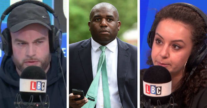 Brendan O'Neill and Dalia Gebrial clashed over David Lammy's Nazi remarks