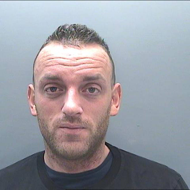 The 33-year-old has now been jailed for five years