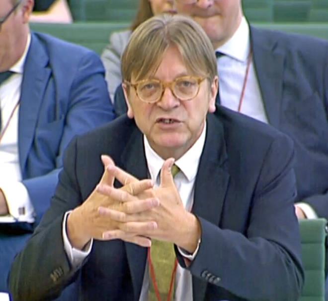 Brexit co-ordinator Guy Verhofstadt