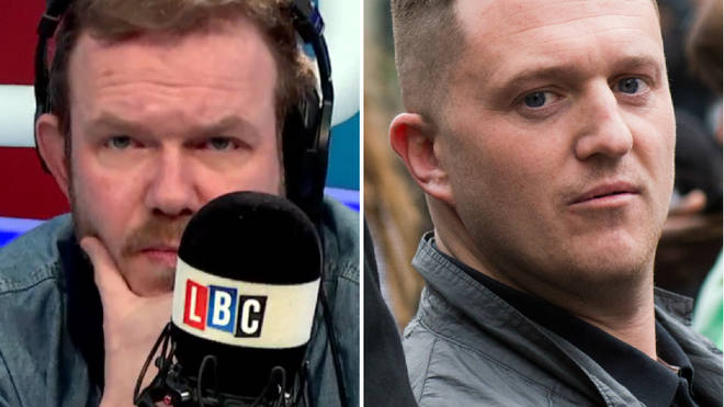 James O'Brien admitted he felt sorry for Tommy Robinson