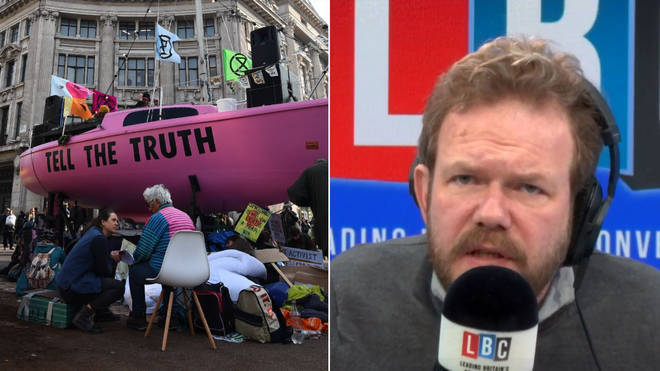 James O'Brien Extinction Rebellion