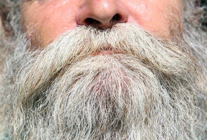 Man's beard
