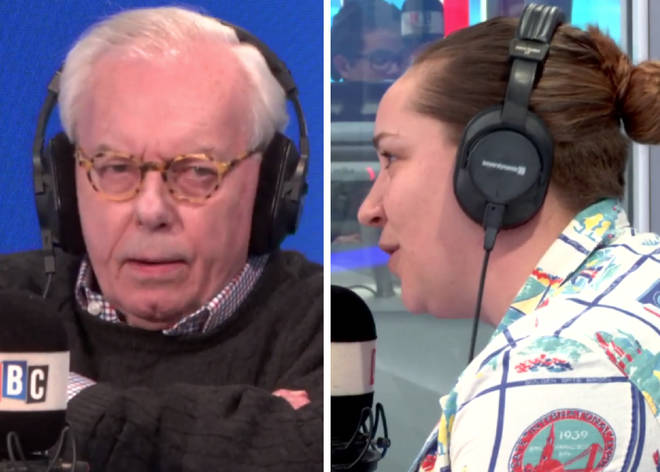 David Starkey and Hannah Peaker clashed on Wednesday night