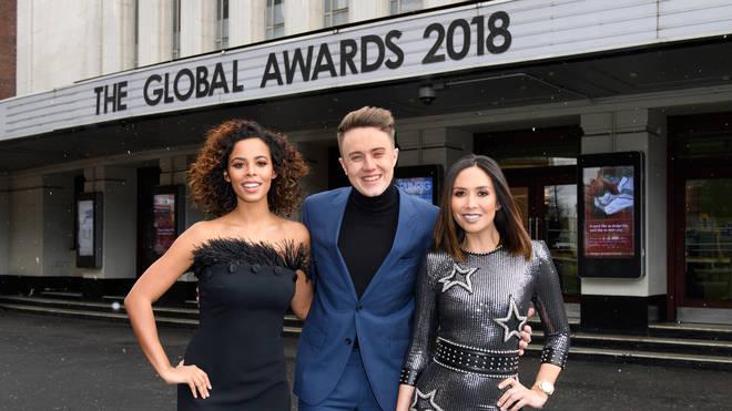 Rochelle Humes, Roman Kemp and Myleene Klass will host the Global Awards