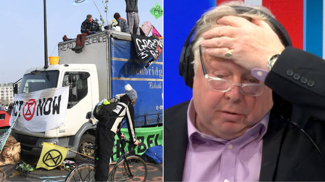 Nick Ferrari Extinction Rebellion