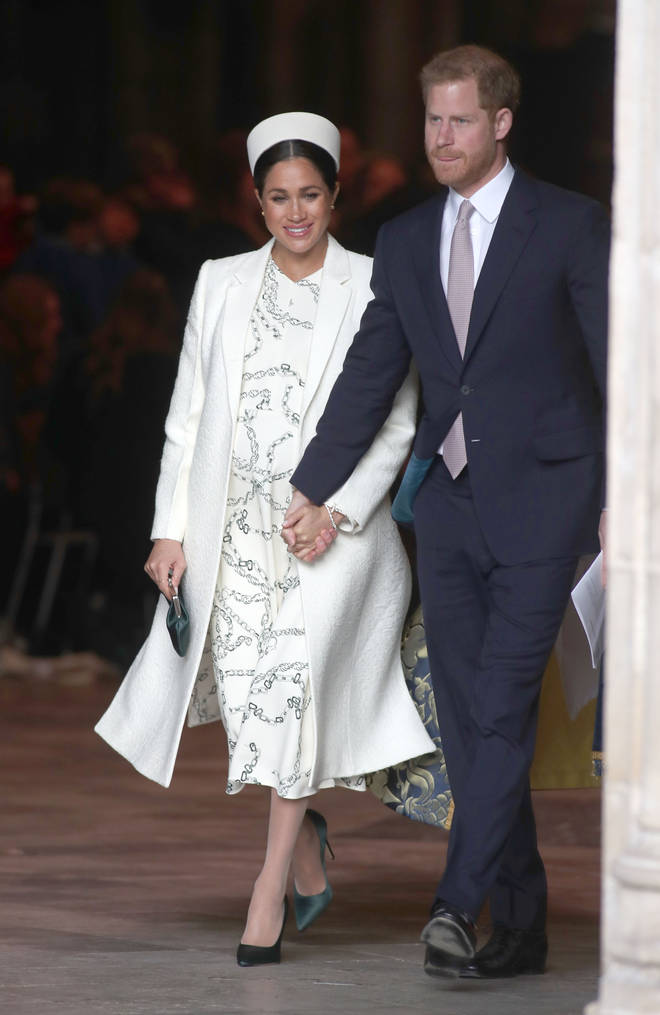 Meghan and Harry are expecting their first baby.