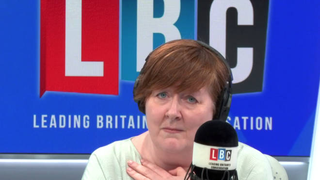 Shelagh Fogarty sympathised with the caller's plight