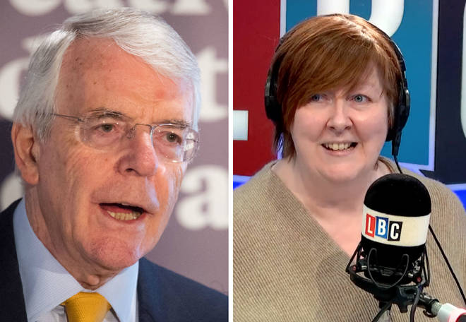 John Major Shelagh Fogarty