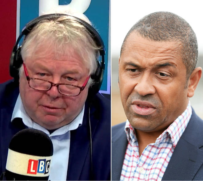 Nick Ferrari spoke to James Cleverly