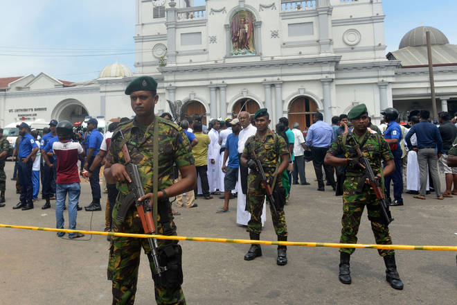 At least 200 people have been killed in eight explosions in Sri Lanka on Easter Sunday