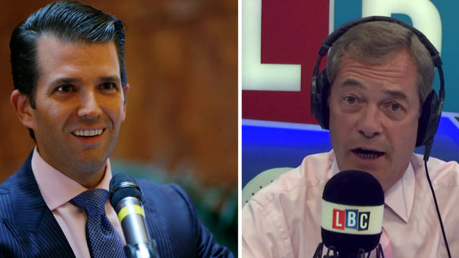 Donald Trump Jr Nigel Farage