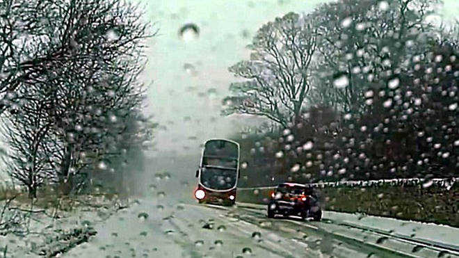 Bus driver's amazing piece of driving has gone viral