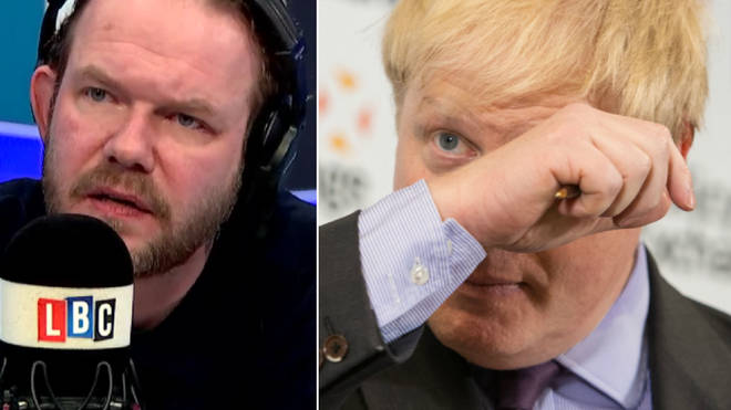 James O'Brien had strong words for Boris Johnson