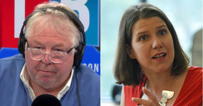 Nick Ferrari had some difficult questions for Jo Swinson