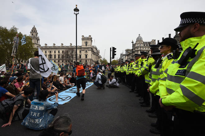 Protesters have engaged in two weeks of action across London