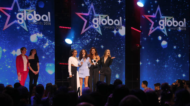Little Mix pick up the final of their three Global Awards