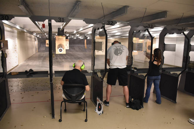 A lawsuit filed on behalf of a Muslim U.S. Army reservist asked to leave a gun range in eastern Oklahoma has been dropped, with both sides declaring victory in the case.