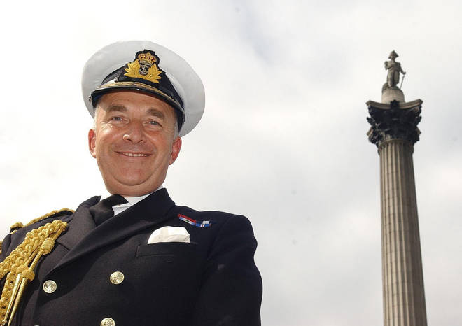 Admiral Lord West was the head of the Royal Navy between 2002 - 2006.