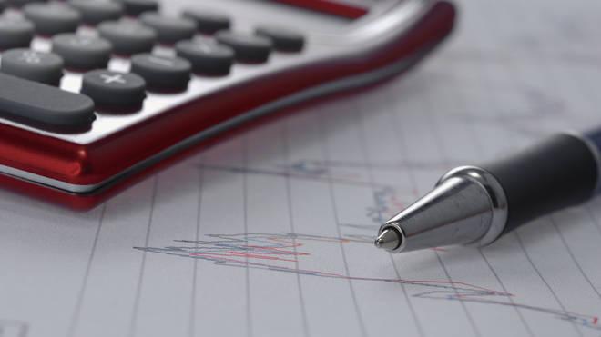 Pen with a calculator