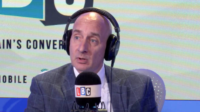 Lord Adonis speaking to LBC in September