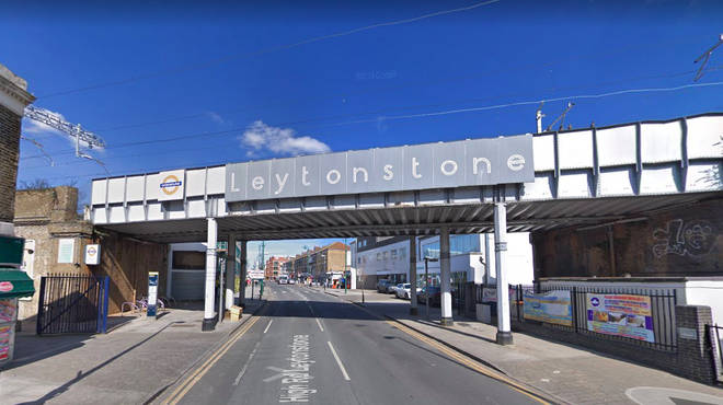 Two men have been left fighting for their life in hospital after being stabbed near an east London train station.