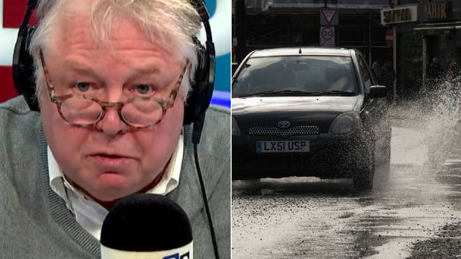 Nick Ferrari had an angry exchange with Thames Water over leaks