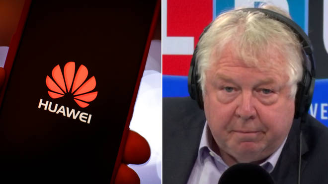 Nick Ferrari explained why the leak over Huawei was a good thing