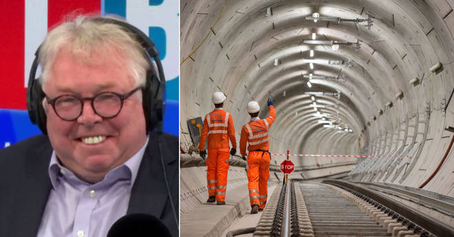 Nick Ferrari spoke to the CEO of Crossrail about the delay