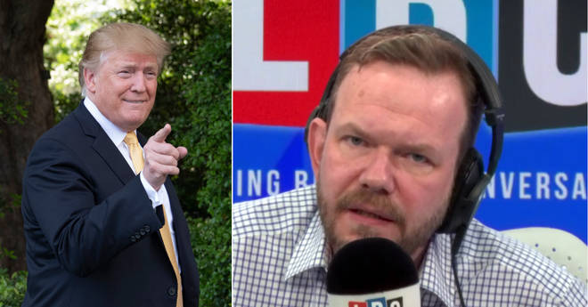 James O'Brien had his say on Donald Trump's state visit