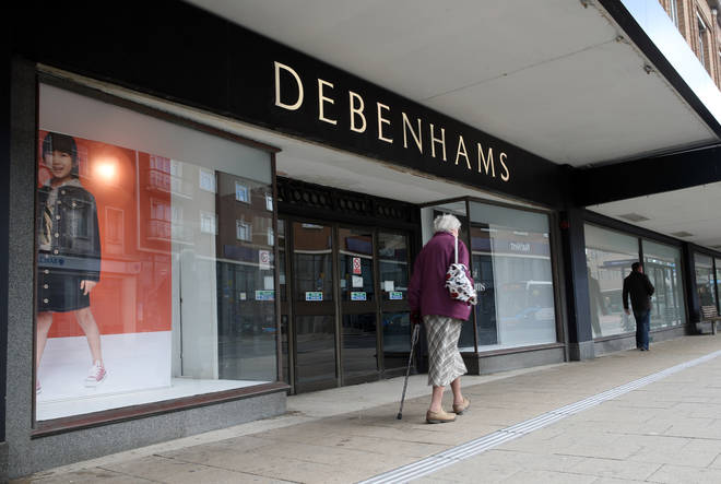 Debenhams has announced the first 22 stores to close across the UK.
