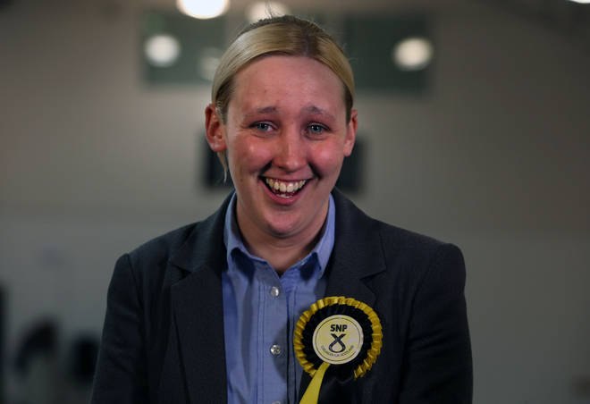 Mhairi Black became the youngest members of the Commons after success in the 2015 election