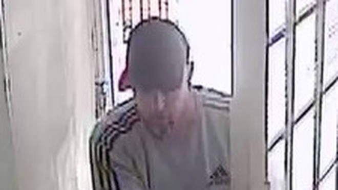 CCTV of the man police want to speak to about the abduction of two women