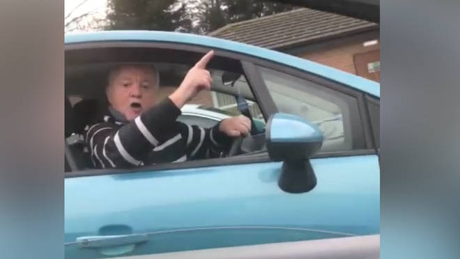 The video of the disabled bay row has gone viral