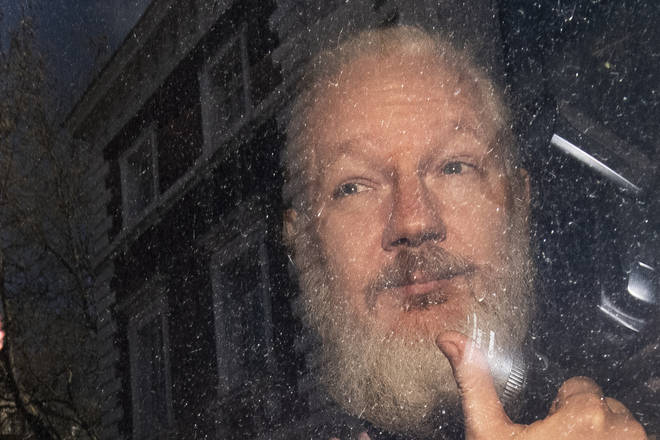 Julian Assange faces up to a year in prison.