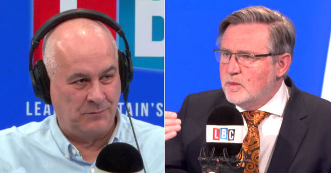 Iain Dale spoke to Labour's Barry Gardiner in the LBC studio