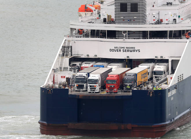The government is cancelling all its contracts for ferry services to be provided in the event of a no-deal Brexit.