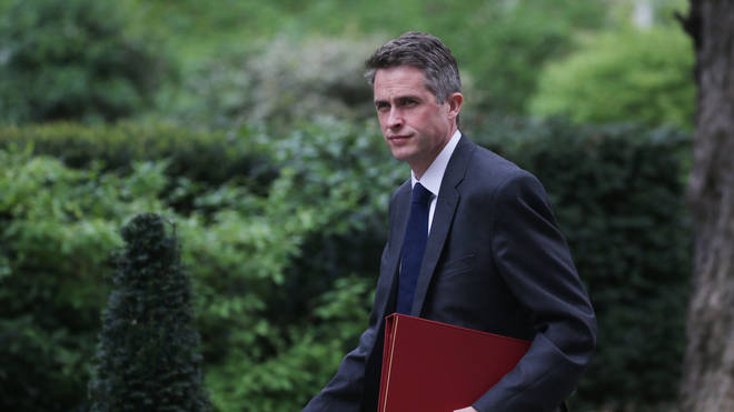 Former Defence Secretary Gavin Williamson