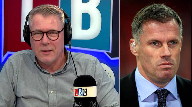 Ian Collins discussed Jamie Carragher's spitting incident