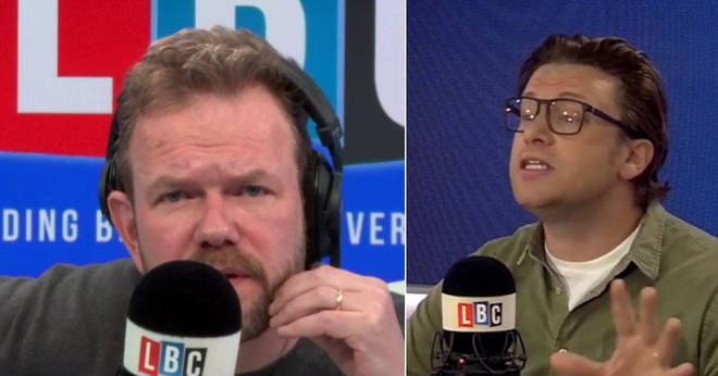 James O'Brien spoke to Jamie Oliver about school meals