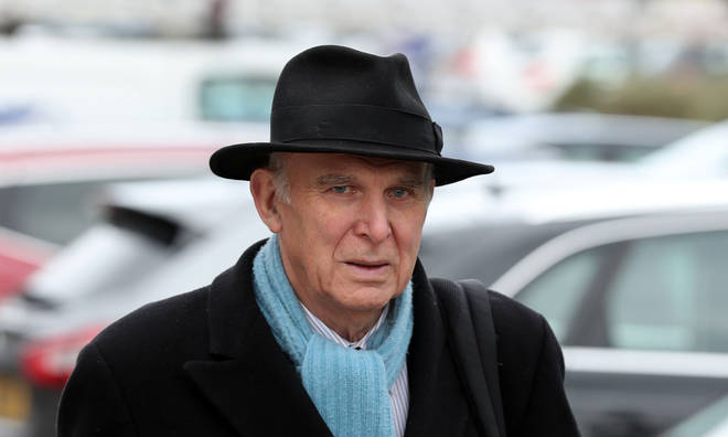 "Vince Cable has been criticised for claiming older people longed for a time when ""faces were white"""