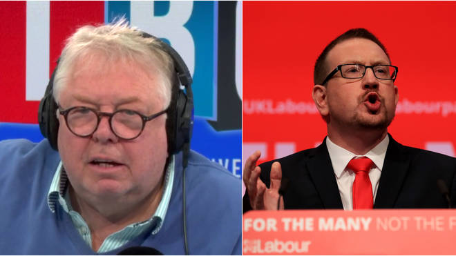 "Nick Ferrari Challenges Labour MP over ""Embarrassing"" Labour Losses"