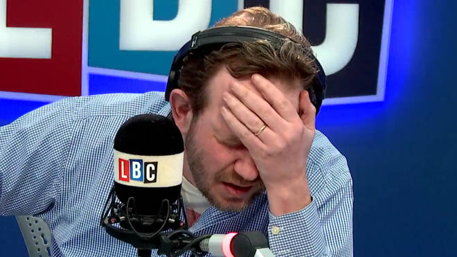 James O'Brien was left with his head in his hands