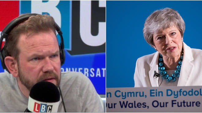 "James O&squot;Brien reacts to Theresa May saying Brexit is an ""opportunity"""