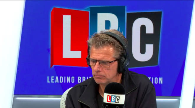 Andrew Castle listened while this caller explained why he set up a security company.